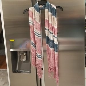💕GYPSY 05💕 Knotted Fringe Tie Dye Scarf Sarong